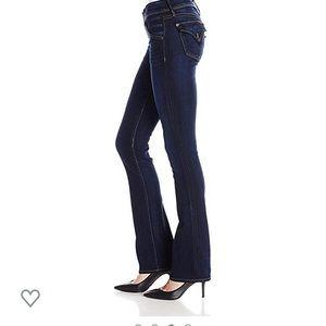 Hudson Boot Cut Low Rise Blue Jeans Size 28